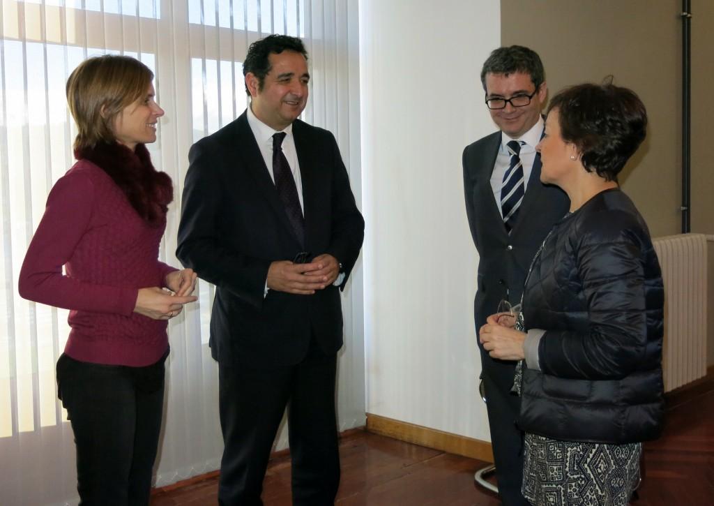 Nava Castro en la reunión de España Verde