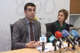 Nava Castro y Manuel Varela en la presentación de FITUR