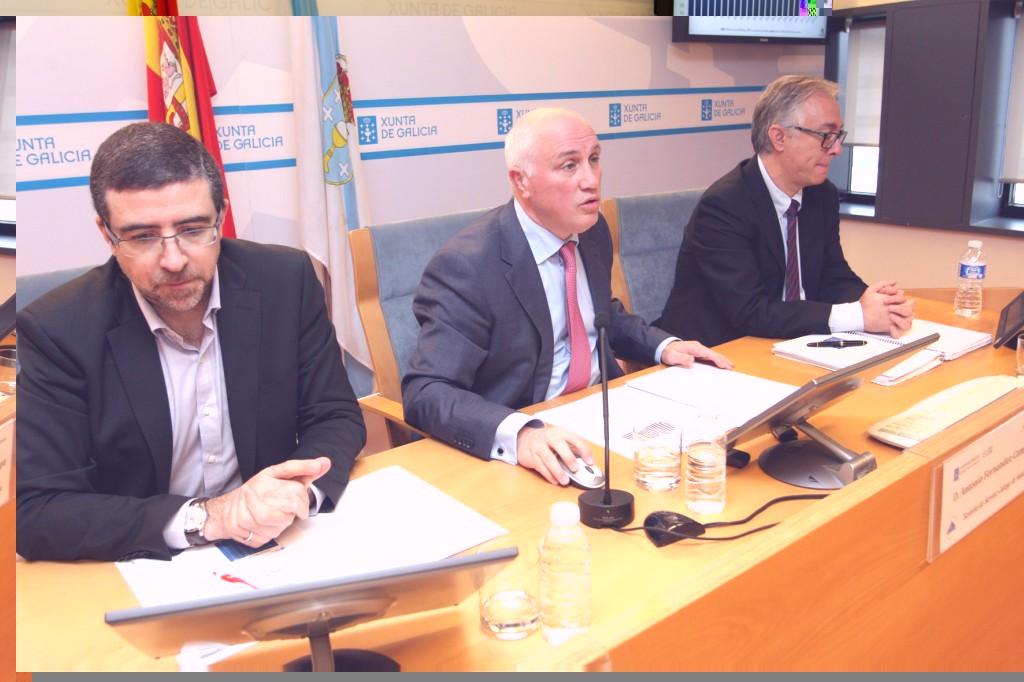 O xerente do Servizo Galego de Saúde, Antonio Fernández-Campa, presentou hoxe, en rolda de prensa, o balance da actividade de doazón e transplante en Galicia do ano 2014 nos hospitais do Sergas
