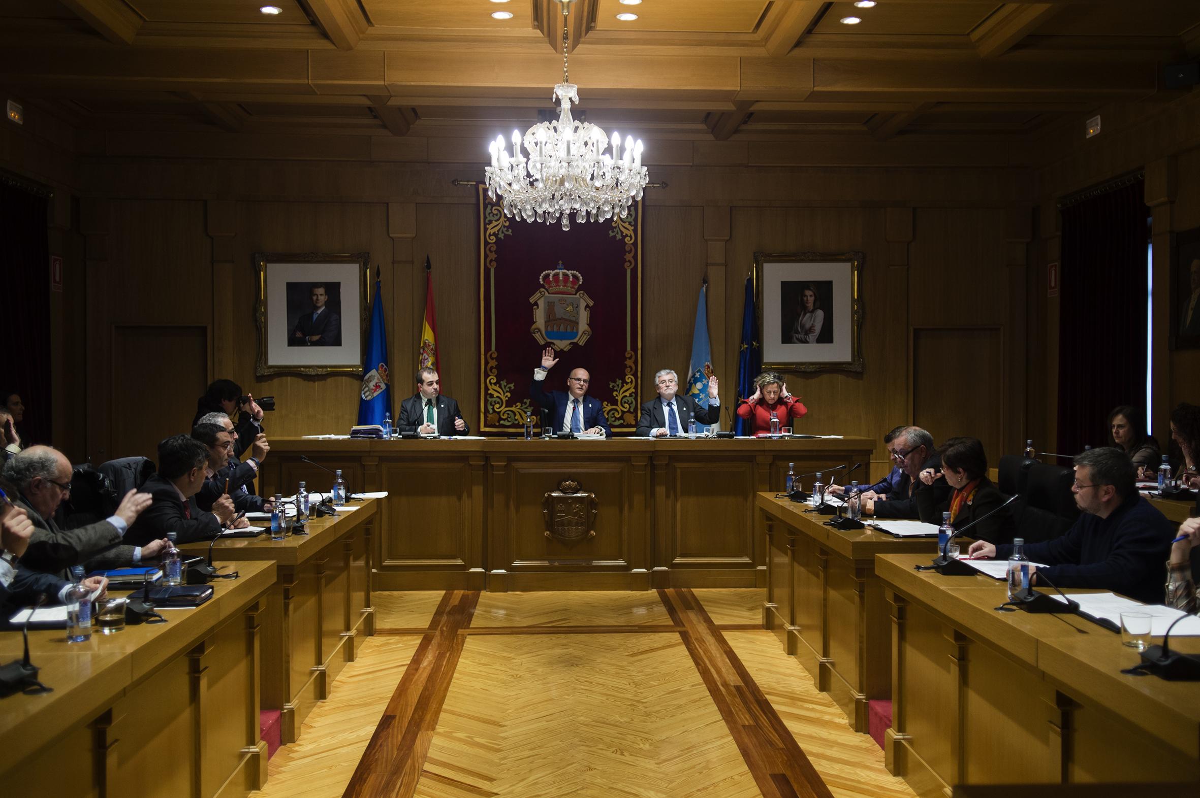 Pleno de xaneiro 2015 da Deputación de Ourense