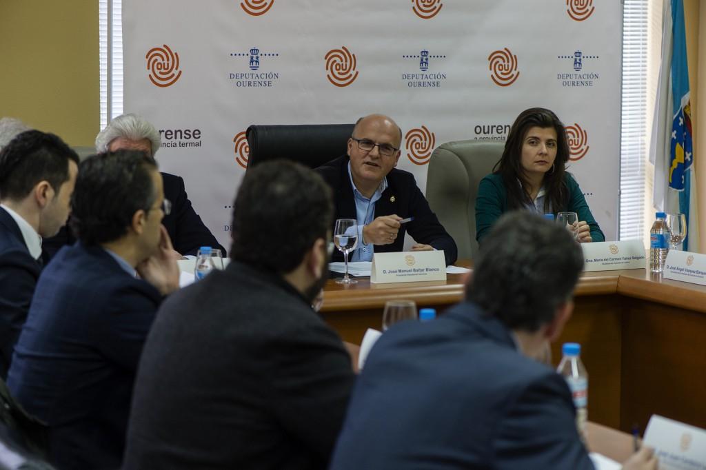 Reunión constitutiva do Comité Termal Ourensán