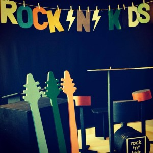 Rock and kids band