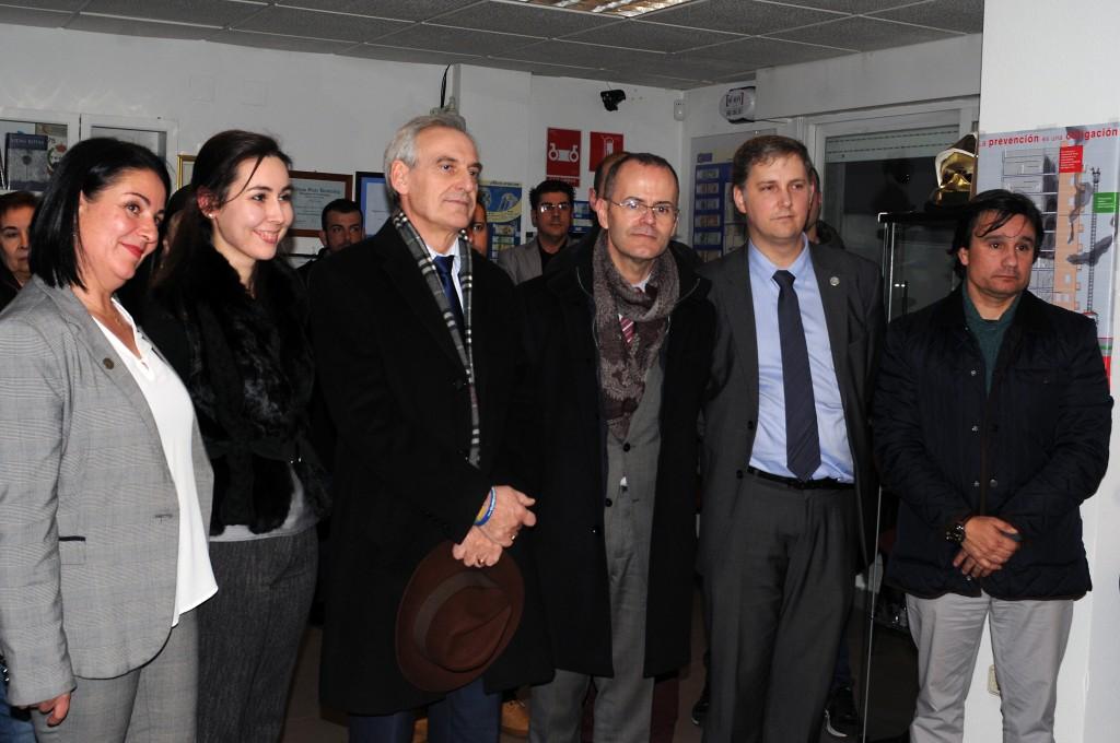 Vázquez Abad participou na inauguración do Centro de Estudos Superiores de Emerxencias, Seguridade e Protección