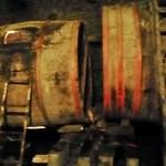 """Cubas de más de cien años en el interior de una """"cova"""" de As Pinguelas"""