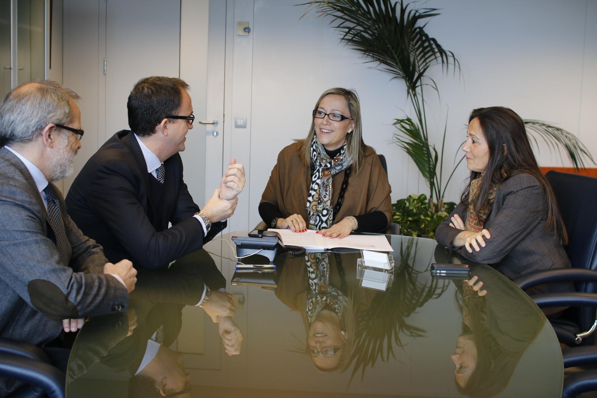 A conselleira de Facenda en Vigo