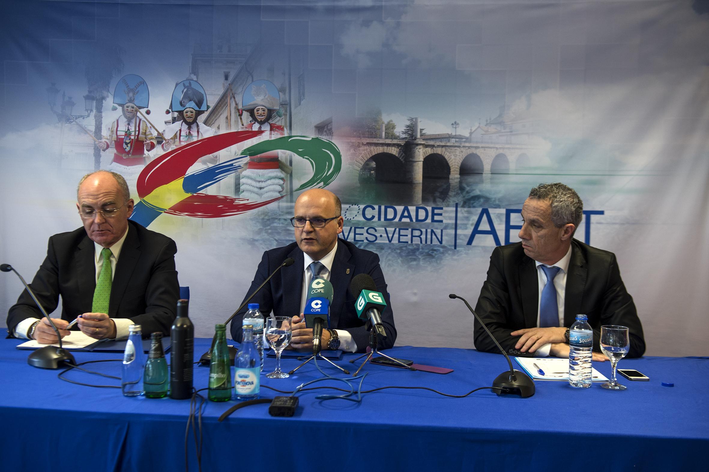 Juan Jiménez, Manuel Baltar e Carlos Penas