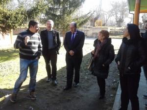 O delegado territorial da Xunta en Ourense, Rogelio Martínez, visitou esta mañá o CEIP Bibei e o IES Carlos Casares, emprazados na localidade ourensá de Viana do Bolo2