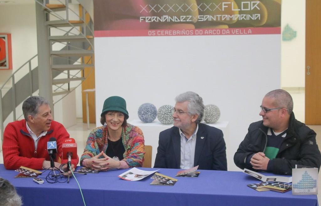 Presentación da exposición de Flor Fernández