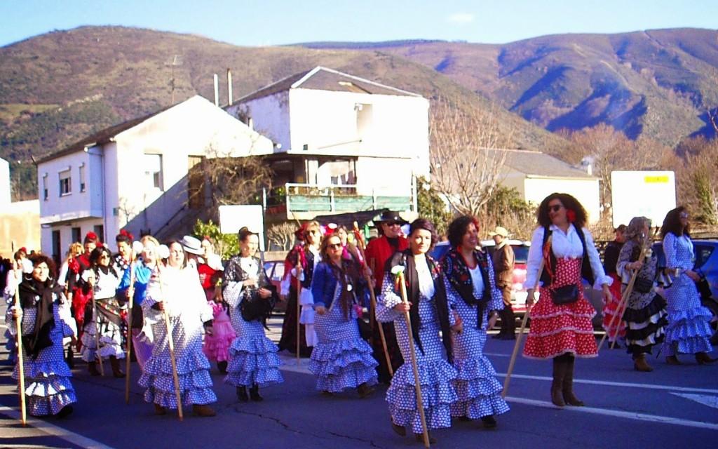 carnaval a rua valdeorras