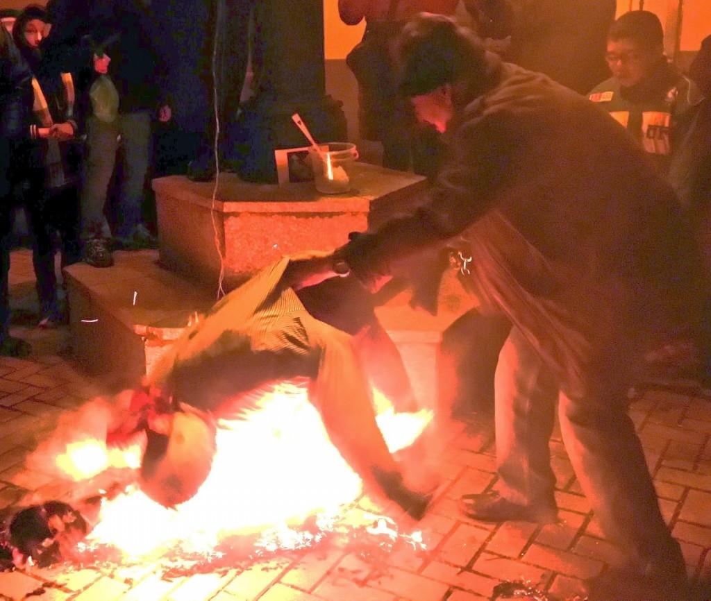 el meco se quema