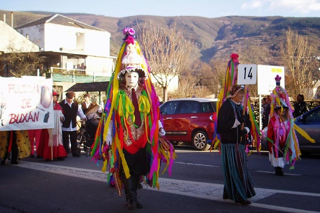 folion de buxan carnaval a rua