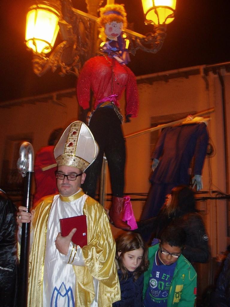 sardina entierro carnaval A Rúa