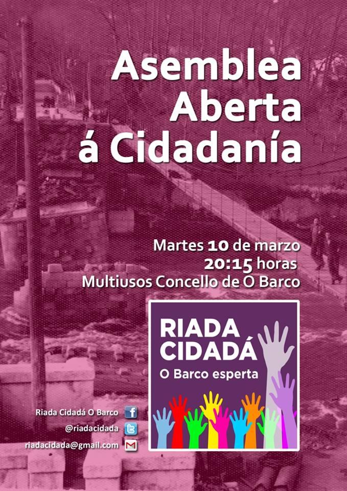 Asemblea Podemos 7 marzo 2015