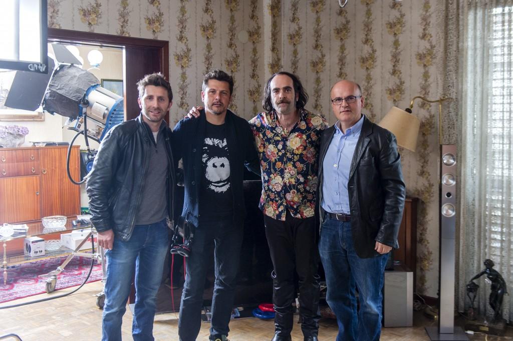 Farruco Castromán, Kike Maíllo, Luis Tosar e Manuel Baltar