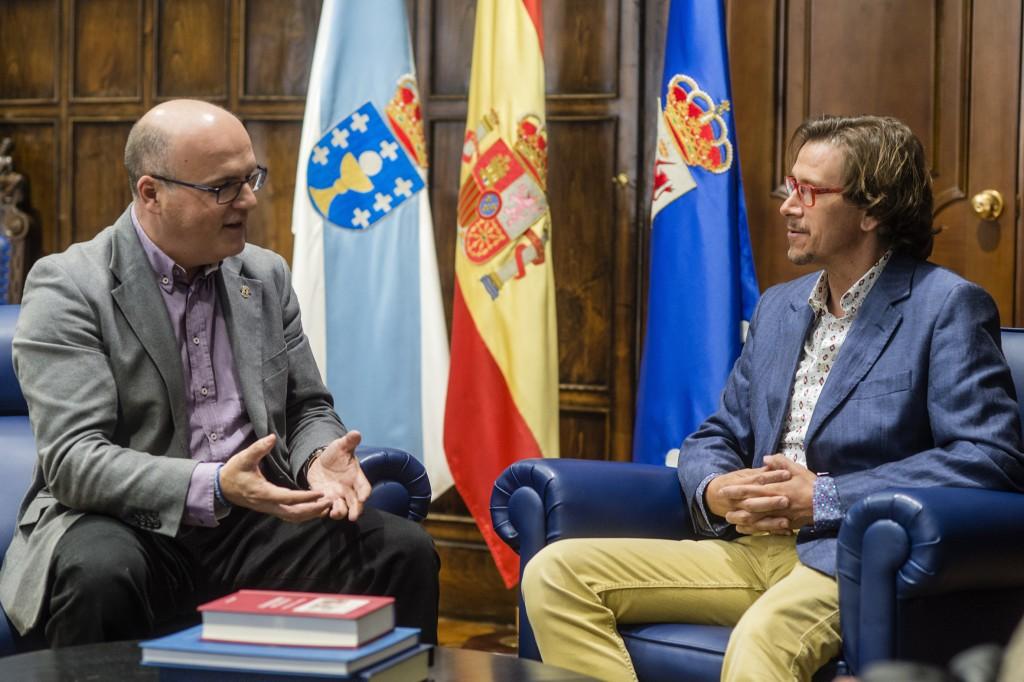 Manuel Baltar e Alejandro Abad