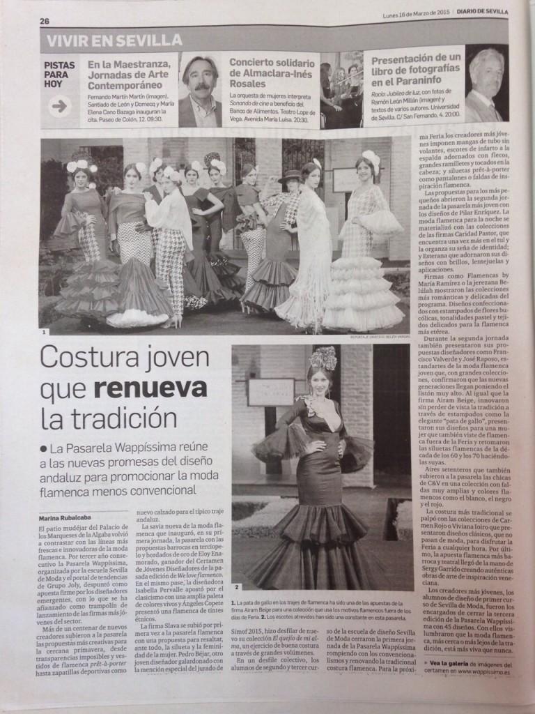 Periódico 'El diario de Sevilla'