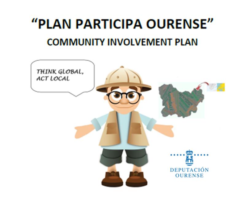 Cartel Plan Participa Ourense 1