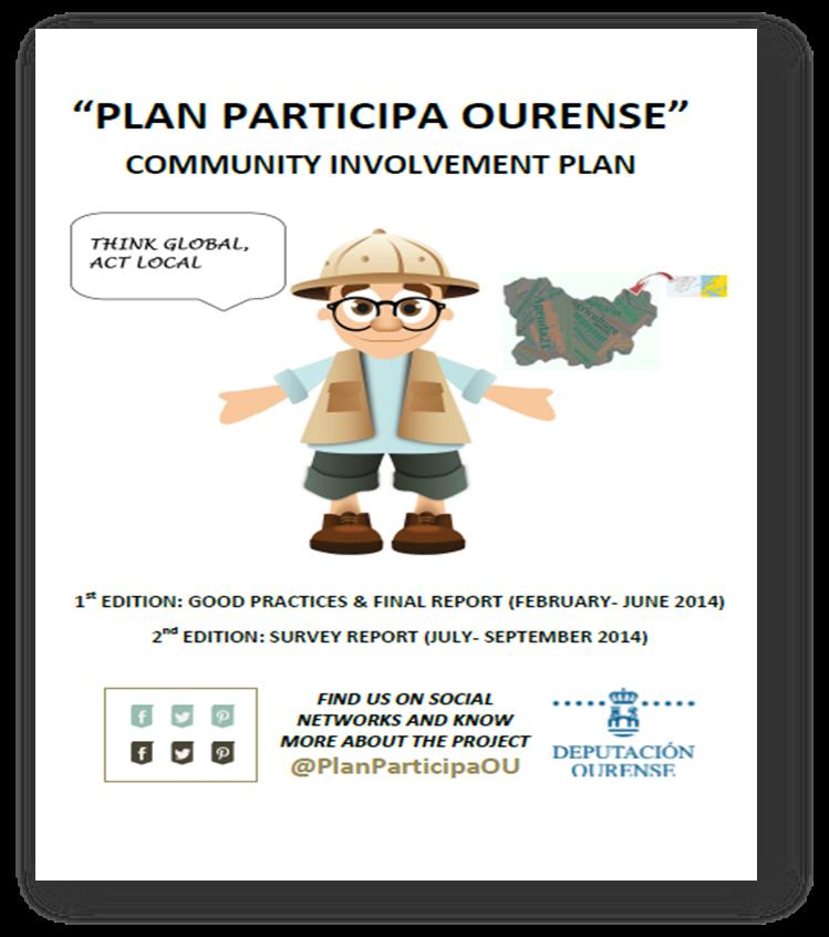 Cartel Plan Participa Ourense
