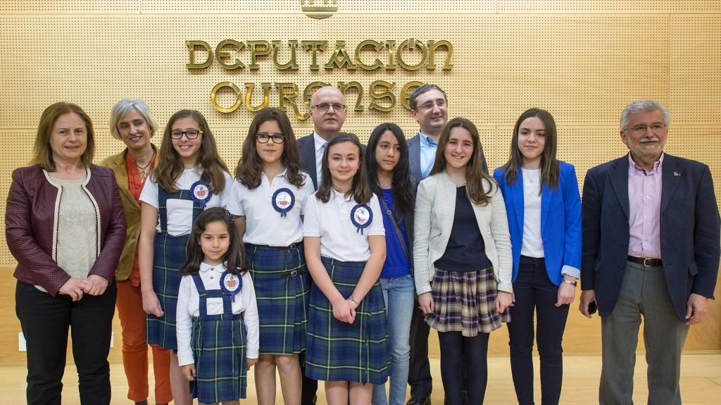 Entrega dos premiso do 2ºConcurso escolar sobre o Estatuto para Galicia