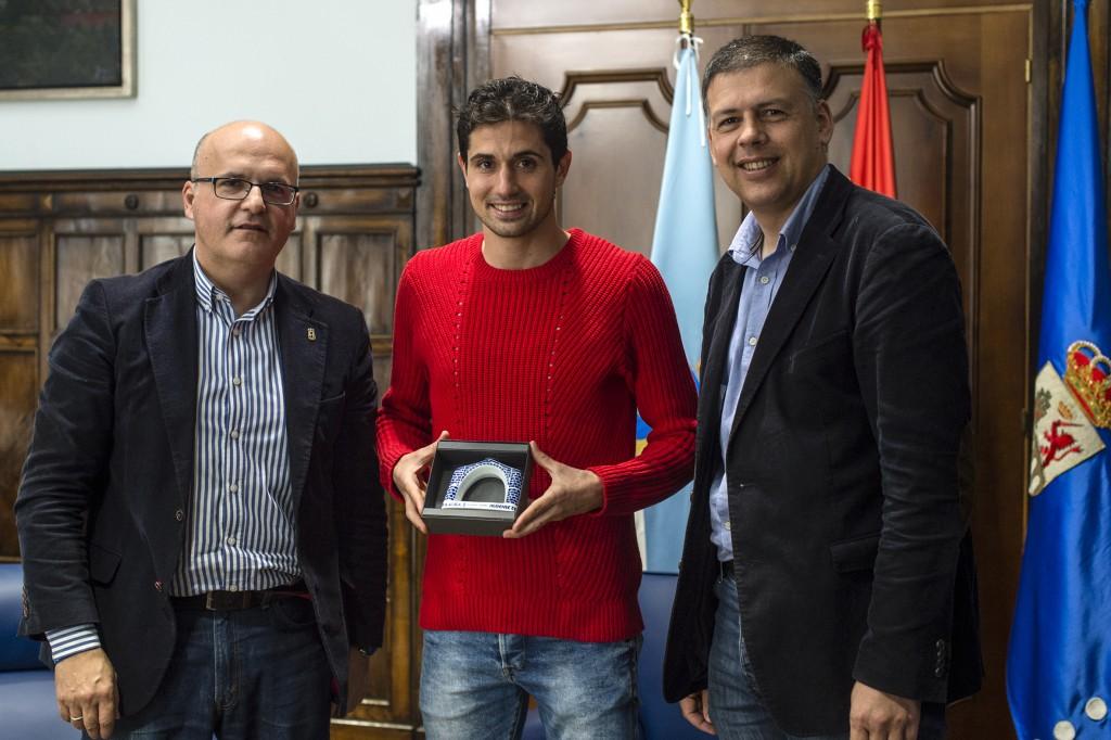 Manuel Baltar, Alejandro Fernández e Bernardino González