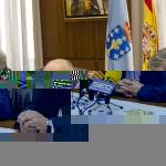 Guillermo Lago, Manuel Baltar e Iván Corral