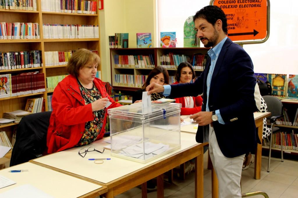 Moisés Blanco, candidato del Partido Popular
