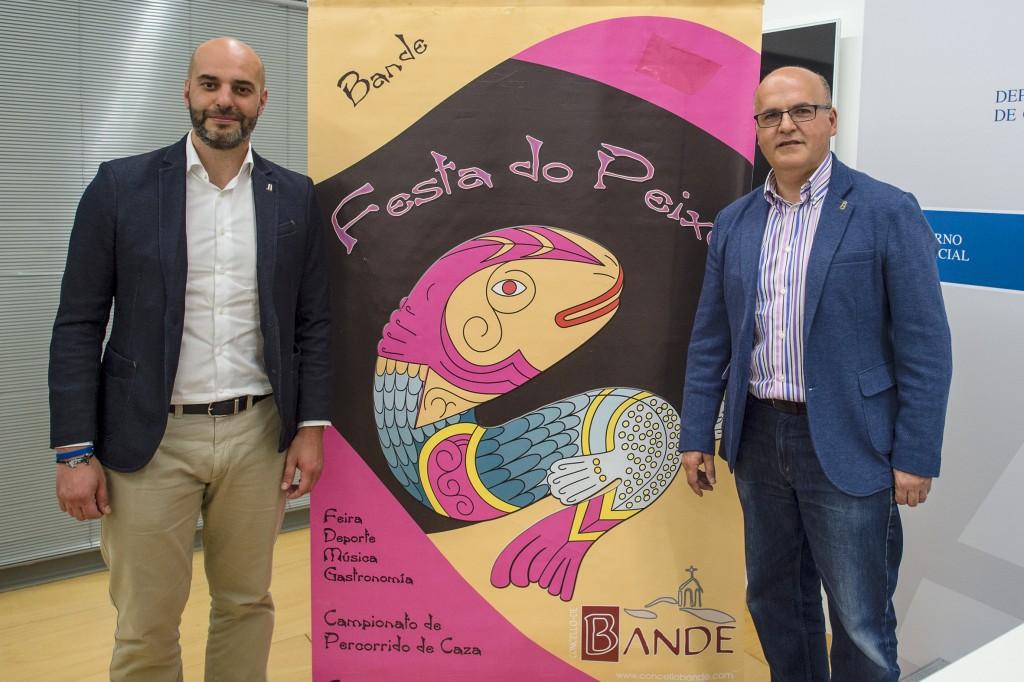 José Antonio Armada e Manuel Baltar