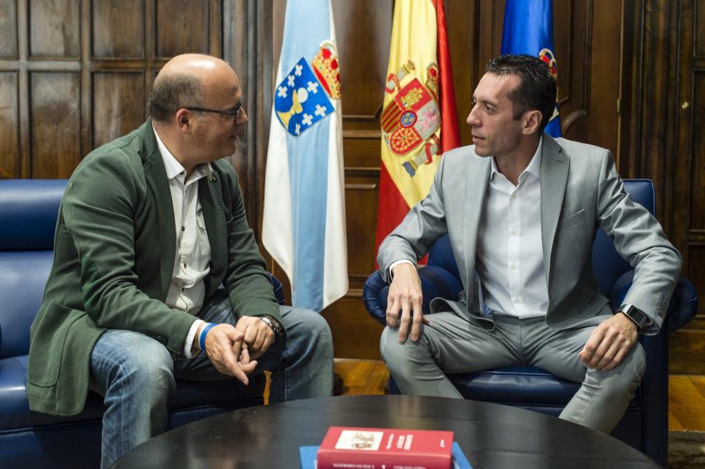 Manuel Baltar e Roberto González