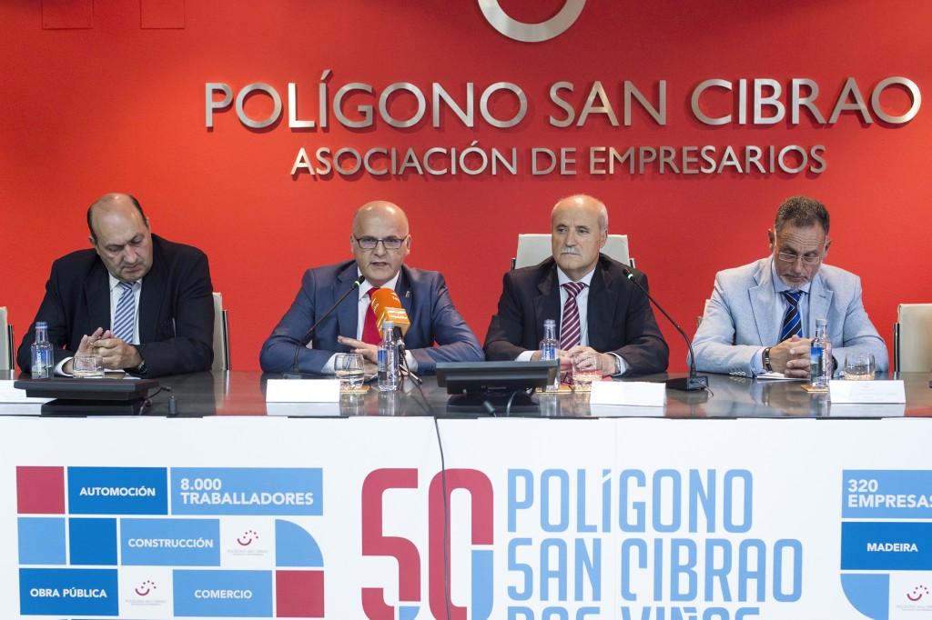 Presentación actos 50 aniversario do Polígono de San Cibrao