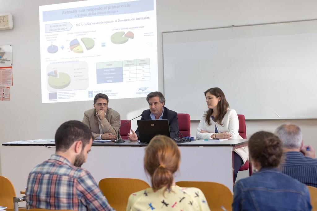 Reunión da mesa de participación pública do Plan Hidrolóxico Galicia Costa foto xoán crespo 09/06/15