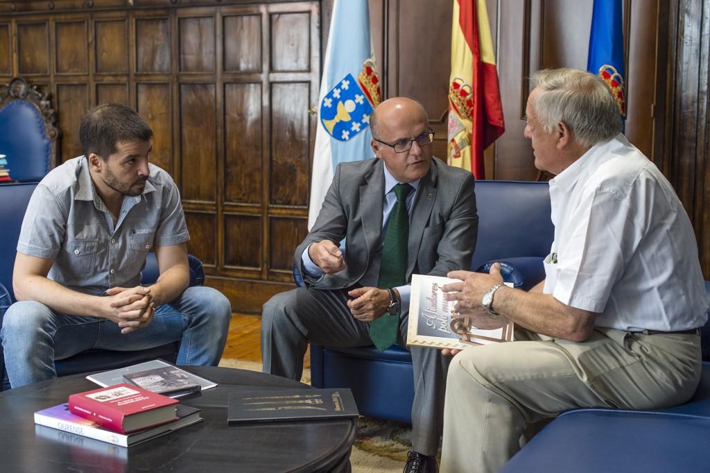 Aitor Rei, Manuel Baltar e Florencio de Arboiro