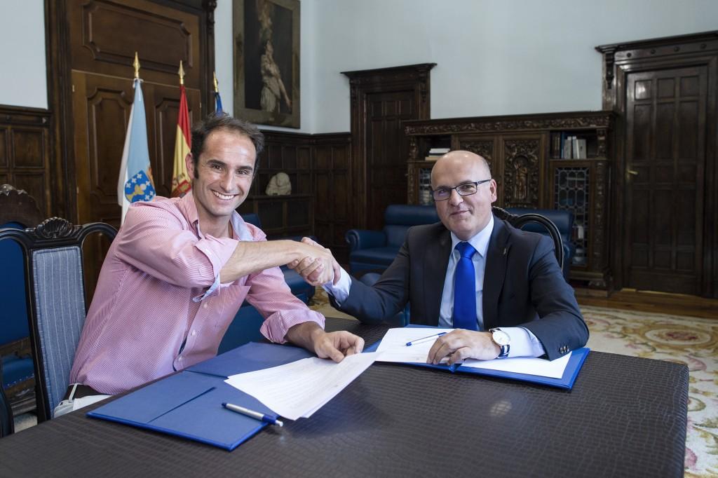Antonio Gavilanes e Manuel Baltar