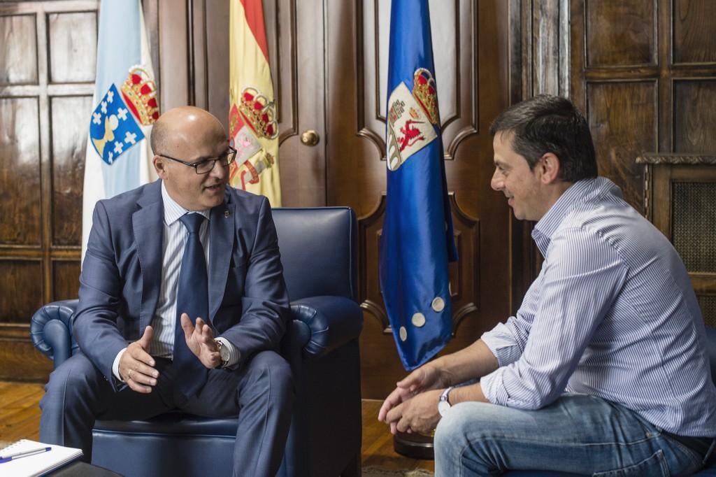 Manuel Baltar e José Luis González (2)
