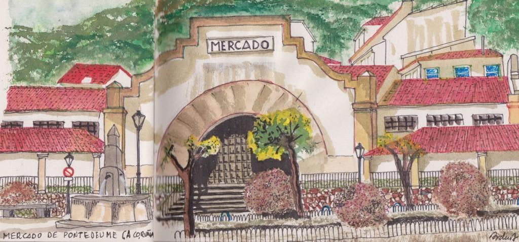 Mercado de Puentedeume