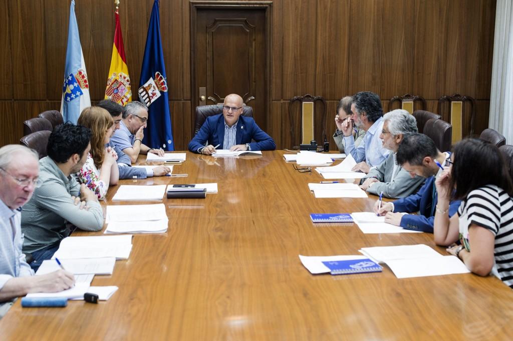 Primeira Xunta de Goberno da Deputación de Ourense 170715