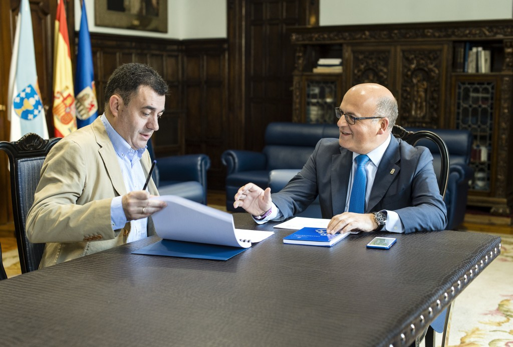 Román Rodríguez e Manuel Baltar