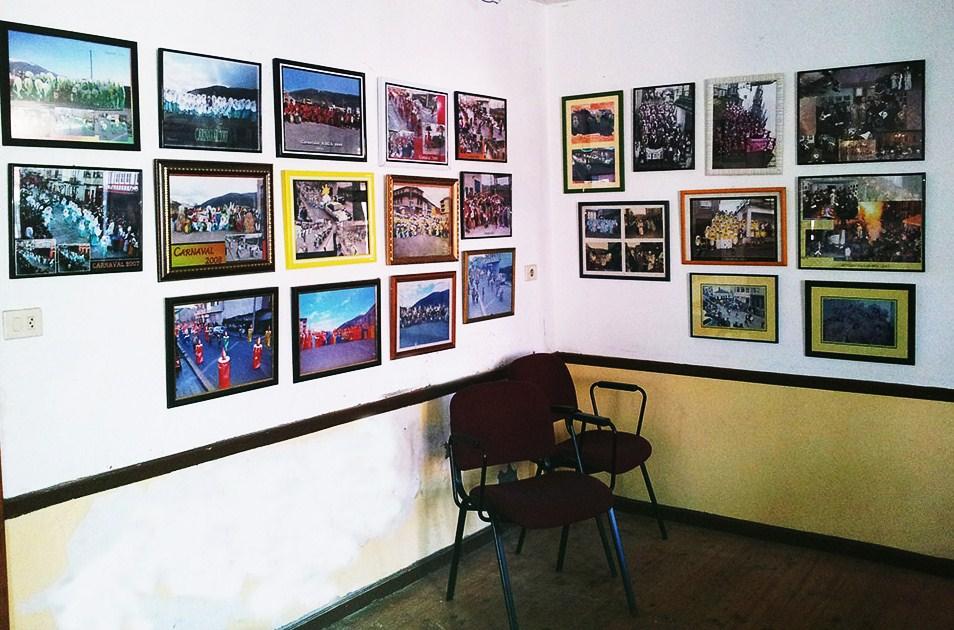 Espacio destinado a las fotos actuales del carnaval en A Rúa