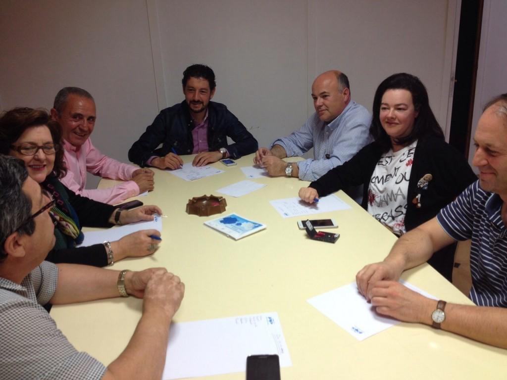 Foto: Elección Arsenio Moldes como portavoz del PP en el Concello de O Barco