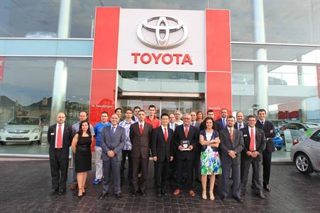 Foto Archivo: Entrega Club Oro a Toyota Navaliegos