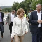 Nava Castro visita el camino Frances