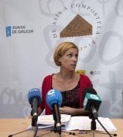 A-directora-de-Turismo-de-Galicia-e-o-xerente-do-Xacobeo-presentaron-esta-mañá-o-Primeiro-Congreso-sobre-Peregrinacións-e-Turismo-300x199
