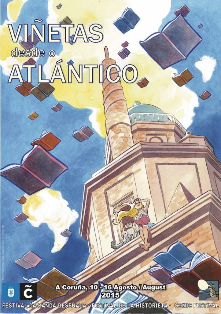 Cartel-Vinetas-desde-o-Atlantico-2015-A-Coruna