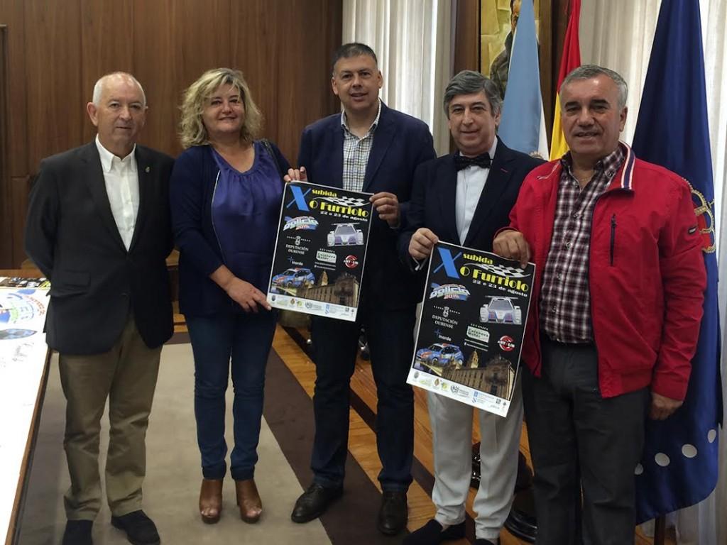 Deputación de Ourense - Presentación da X Subida O Furriolo