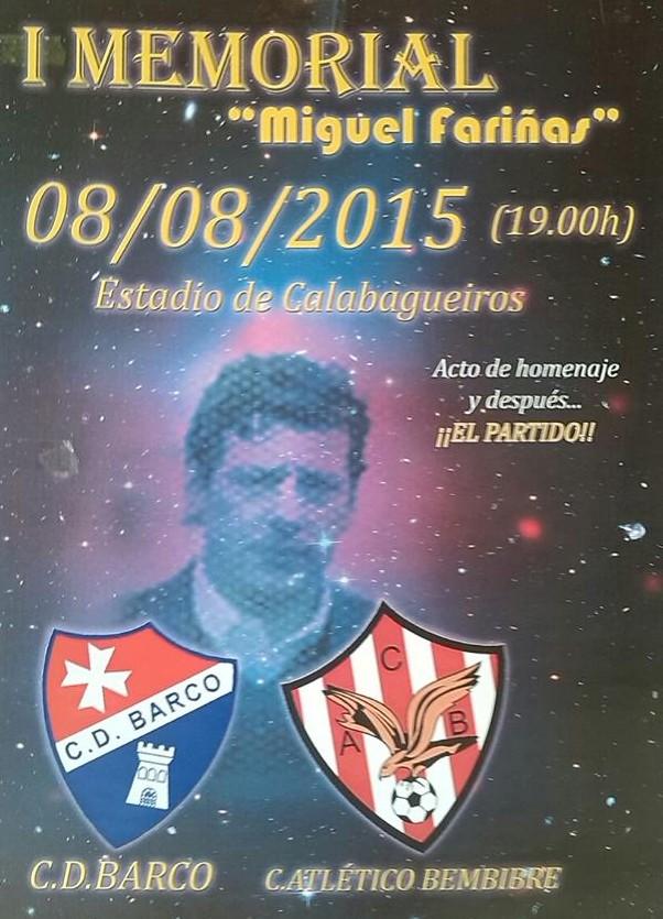 I Memorial Miguel Fariñas