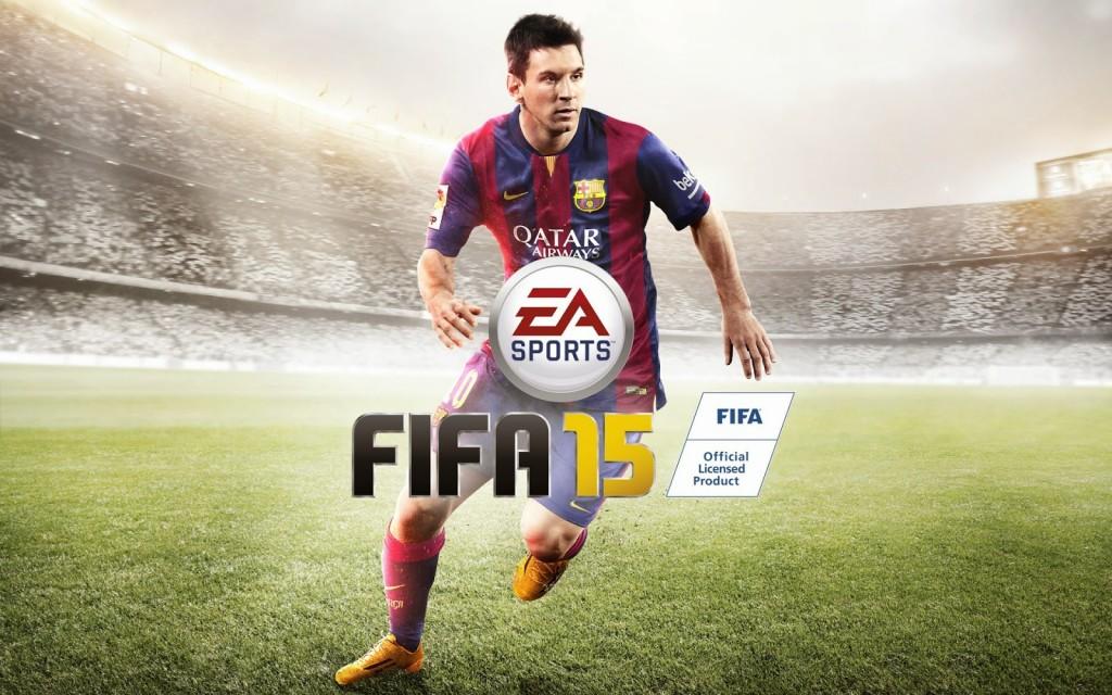 Imagen oficial del videojuego de EA SPORTS FIFA 2015