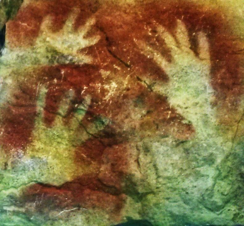 manos del museo cueva altamira