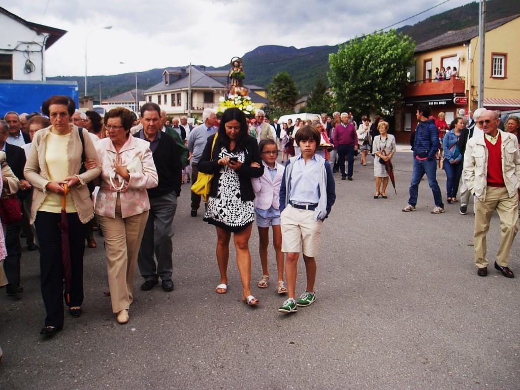 olga procesion san roque