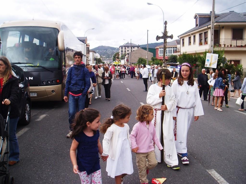 procesión san roque a ria