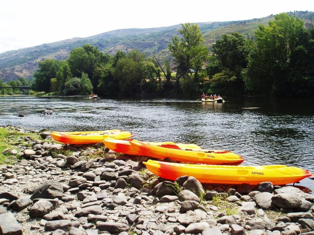 rafting por el río Sil en O Barco