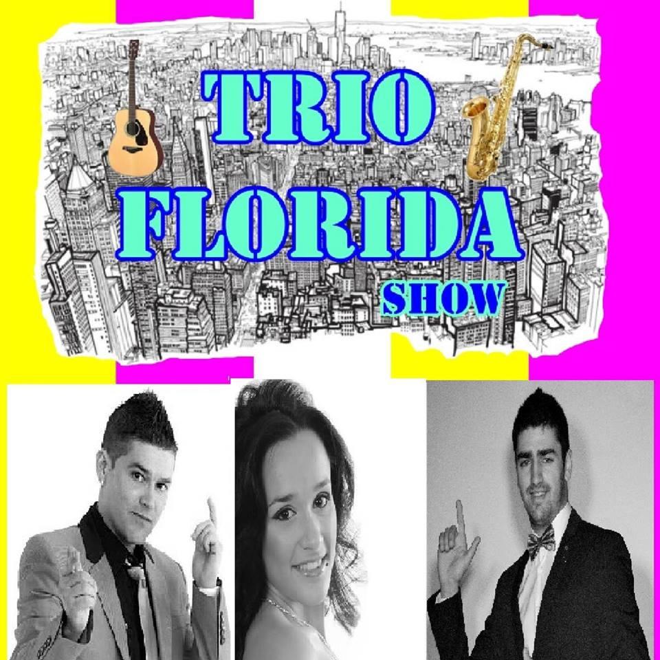 Trío Florida Show, que iban a participar de forma totalmente desinteresada en el evento
